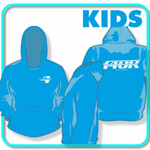 DJ_Flor_Hoodie_kids_blauw